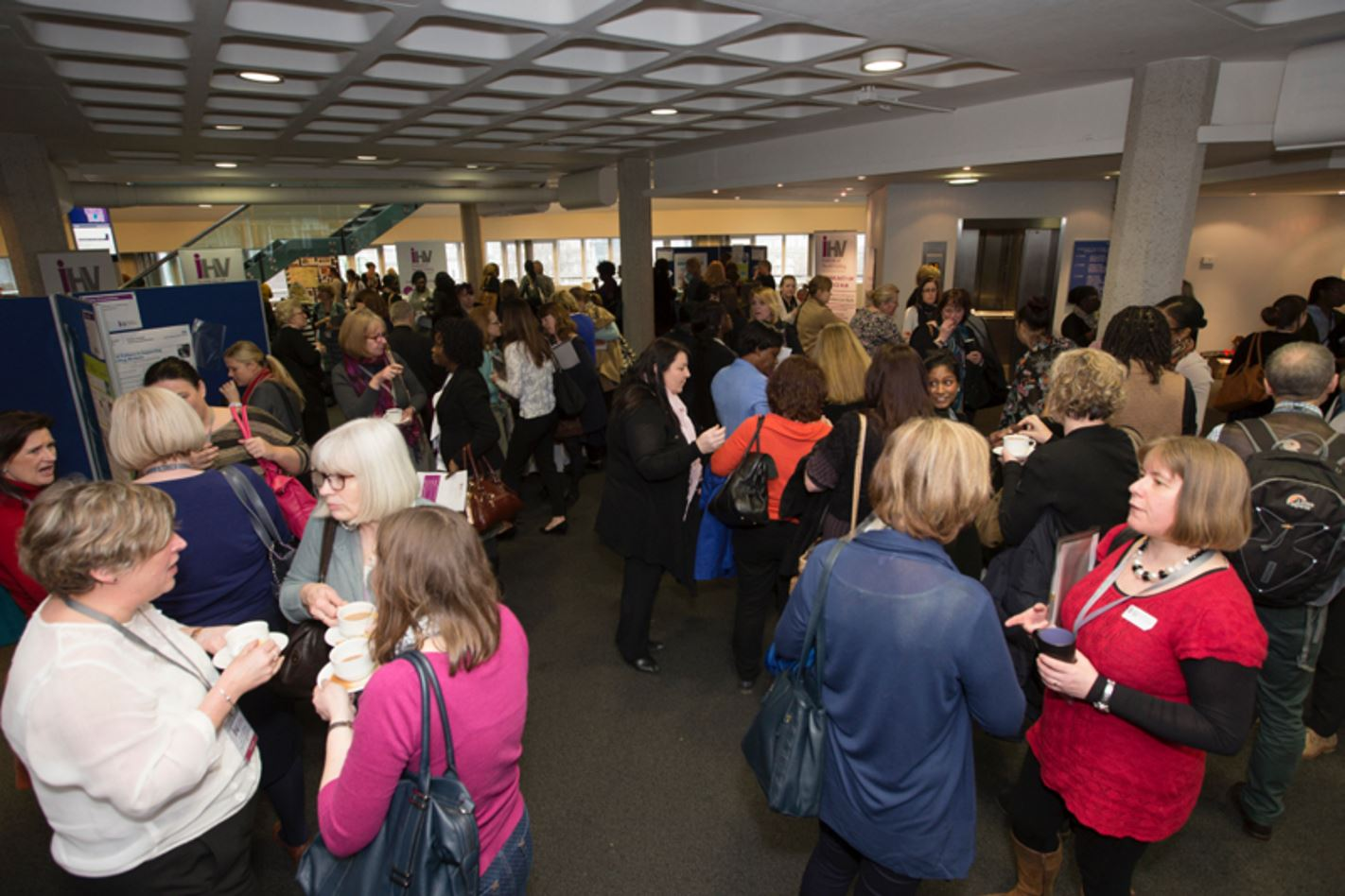 In the marketplace at iHV conference in London