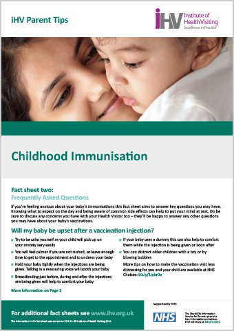 understanding childhood immunization