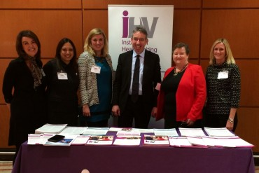 Duncan Selbie, CEO PHE, catches up with the iHV team at the LGA/ADPH conference -3 Feb 2016.