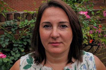 Anwen Evans, health visitor for Southern Health NHS Trust