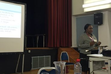 Ekaete George, Senior Practice Teacher-Health Visiting, Guys & St Thomas' NHS Foundation Trust, presenting to the Communication Council