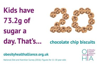 Obesity Health Alliance - biscuit infographic
