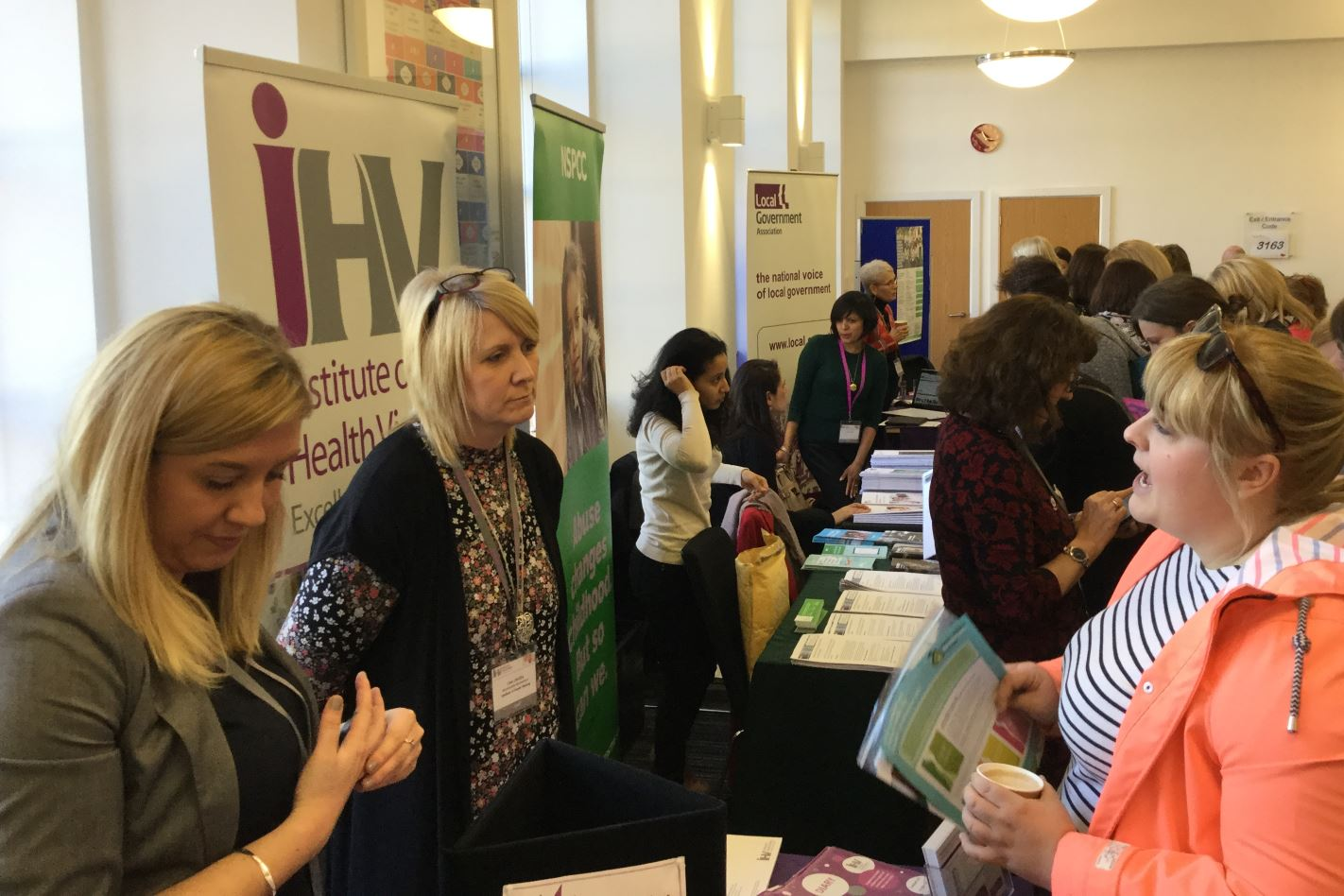 Marketplace at evidence-based practice in health visiting' conference