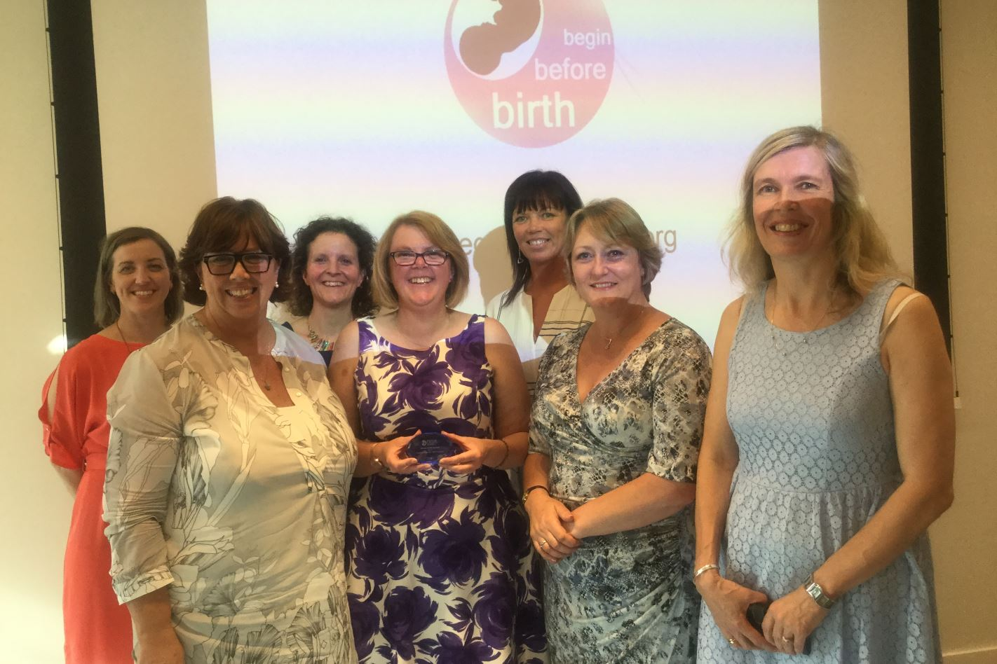 Halton Integrated Perinatal and Infant Mental Health Service won the 'Locality award for mental health inclusion' at the Infant Mental Health Awards