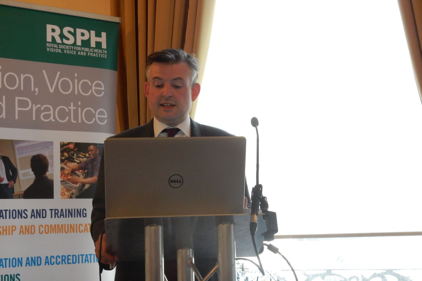 Jonathan Ashworth MP, Shadow Secretary of State for Health addressing the breastfeeding conference
