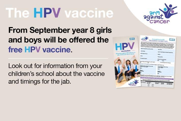 hpv immunisation nhs)